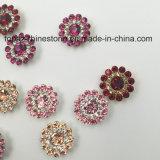 Установка когтя цветка 2017 новая кристаллов оптовой продажи 9mm свободная Swaro прибытия шьет на стеклянных бусинах (шампанское TP-9mm круглое)