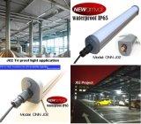 Indicatore luminoso antipolvere impermeabile 55W 4FT della Tri-Prova del LED