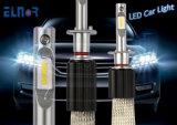 車の自動車ジープCae LEDのヘッドライトのための球根2年の保証のFanless H4 H7 LEDのヘッドライトの