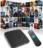 L'androïde de cadre du dongle TV de TV 6.0 Caidao avec le cadre intelligent de ROM du RAM 8GB du faisceau 2GB de quarte d'Amlogic S905X supporte le dongle de 4k HD H. 265 TV