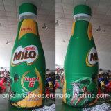 광고를 위한 생생한 디자인 그리고 휴대용 팽창식 음료 PVC 병