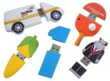 Gift van het Silicone van de Aandrijving van de Flits van pvc USB van de douane de Zachte Rubber Promotie