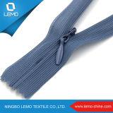 Застежка -молния Lemo 3# дешевая Stock Nylon обратная незримая