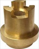 Piezas de cobre amarillo de la bomba de la precisión de encargo del OEM