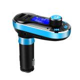 Audio del coche con el jugador de MP3 del transmisor de FM con la capacidad de Bluetooth