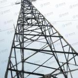 Toren van de Telecommunicatie van het Staal HDG van de hoek de Tubulaire