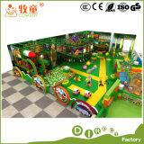 Juegos de rol Casa cubierta de plástico de fibra de vidrio de diapositivas Zona de juegos Juguetes del arco iris neto