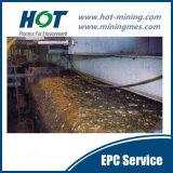 Engenharia para o processo de flutuação do ouro