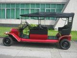 Coche con errores clásico del coche eléctrico aprobado de la vendimia del Ce