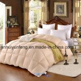 Comforter bianco/grigio/grigio di alta qualità dell'oca/anatra giù
