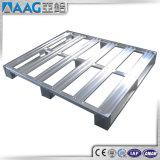 Paleta de aluminio estándar del almacén