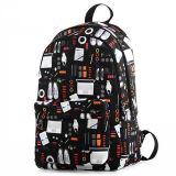 2016新しいバックパックの印刷防水袋の軽量のBackpacの高等学校袋
