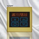 Marco plástico del interruptor del tacto del termóstato de la calefacción por el suelo (SK-HV2300B-L)