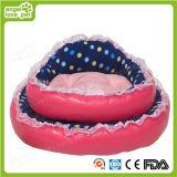 Lustiges runde Form-Plüsch-Haustier-Hundesofa-Bett