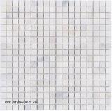 Плитка мозаики Carrara строительного материала белая мраморный для плитки настила (FYST201)