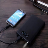 ABS Cover Mobile Charger 20000mAh Dual USB Power Bank com LCD