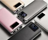 Carregador personalizado do telefone que cobra rapidamente o banco portátil da potência com o LCD