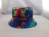 Оптовый шлем ведра листьев цвета градиента печатание сублимации способа