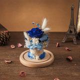 Fiore conservato in vetro per il regalo della decorazione
