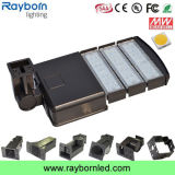 El estacionamiento al aire libre enciende luces de calle de la fotocélula 150W Shoebox LED