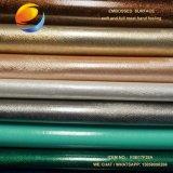 Nettes Chemiefasergewebe PU-Leder für Dekoration (FSB17F28A)