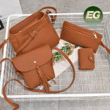 Hete Verkopende Vastgestelde Dame Shoulder Bags van de Handtas van de Emmer met de Zak en Leeswijzers Sy8249 van het Muntstuk