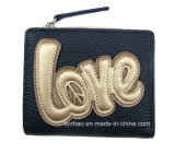 purse 2017명의 형식 새로운 디자인 숙녀 또는 자수 사랑 지갑