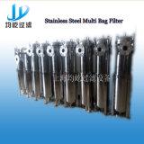 ステンレス鋼のより低い運用コストの単一のバッグフィルタ