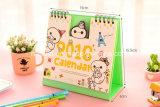 2018 el calendario de escritorio de oficina