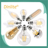 Garantia de 2 anos G45 4W Frosted LED Filament Bulb E14 E27 Base