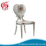 별장 집을%s 최신 인기 상품 디자인 심혼 모양 스테인리스 의자는 사용했다