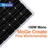 Mono comitati solari di Moge 150W con le pile solari di alta efficienza in Cina