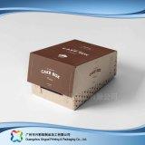 Faltender Papier-verpackenkasten für Nahrungsmittelschokoladen-Süßigkeit-Kuchen (xc-fbk-005)