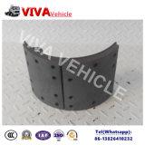Patin de frein de remorque de camion pour l'essieu de BPW/Fuwa/York