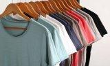 Camiseta de la funda de los hombres cortos del algodón