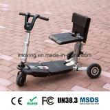 """E-""""trotinette"""" Foldable das rodas da mobilidade três"""