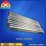 En alliage d'aluminium Heat Sink Extrusions pour chauffage par induction Alimentation