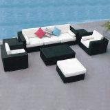 Modernes im Freiengarten-Patio-Stock-Möbel-Rattan/Weidensofa-Set