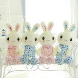 Brinquedo macio cor-de-rosa Bashful novo do luxuoso do coelho de coelho