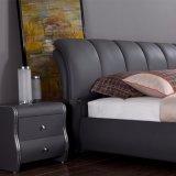 Nueva suavidad clásica de la base de cuero para los muebles Fb3079 del dormitorio