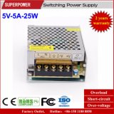 발광 다이오드 표시 스크린을%s 5V 5A 25W 엇바꾸기 전력 공급