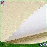 Пламя покрытия - ткань занавеса retardant слепого полиэфира Linen от домашней фабрики тканья