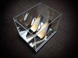 بلورة - واضحة أكريليكيّ حذاء رياضة حذاء [ديسبلي بوإكس]