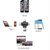 4 в 1 Типе-C/для читателя карты памяти USB 2.0 USB/Andriod /Micro iPhone