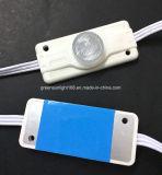 옆 밝은 LED UL 모듈에 의하여 2 측 조명되는 표시 상자