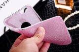 Caixa do pó TPU do Glitter da venda por atacado da qualidade da tampa do telefone de pilha