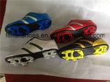 Los zapatos atléticos del fútbol de las mujeres del OEM con modificado para requisitos particulares, balompié calzan al por mayor (FFSC1110-02)