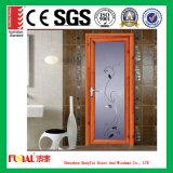 puerta de cristal interior de aluminio del marco de 1.4mm-2.0m m