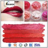 カラー化粧品のための装飾的な微光の雲母の顔料