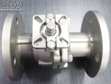 Клапан 2-PC служил фланцем плавая шариковый клапан CF8